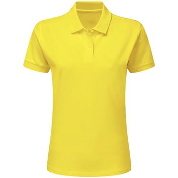 vaatteet Pojat Lyhythihainen poolopaita Sg SG59K Yellow