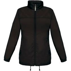 vaatteet Naiset Tuulitakit B And C JW902 Black