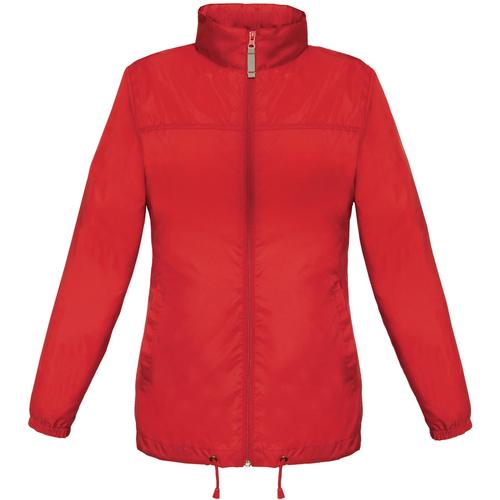 vaatteet Naiset Tuulitakit B And C JW902 Red
