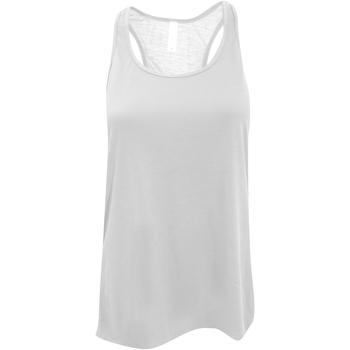 vaatteet Naiset Hihattomat paidat / Hihattomat t-paidat Bella + Canvas BE8800 White