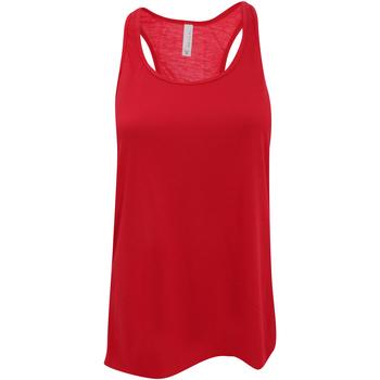 vaatteet Naiset Hihattomat paidat / Hihattomat t-paidat Bella + Canvas BE8800 Red