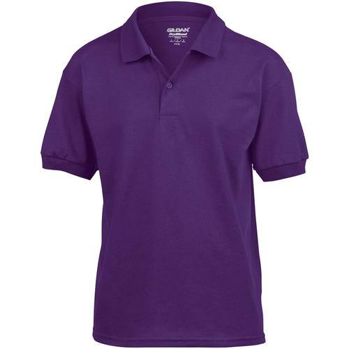 vaatteet Lapset Lyhythihainen poolopaita Gildan 8800B Purple