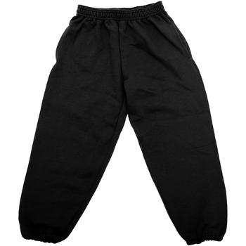 vaatteet Lapset Verryttelyhousut Jerzees Schoolgear 750B Black