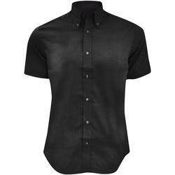 vaatteet Miehet Lyhythihainen paitapusero Kustom Kit KK187 Black