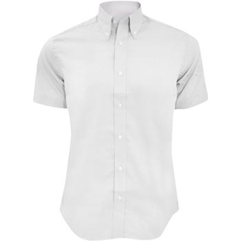 vaatteet Miehet Lyhythihainen paitapusero Kustom Kit KK187 White