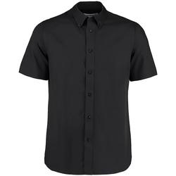 vaatteet Miehet Lyhythihainen paitapusero Kustom Kit KK385 Black