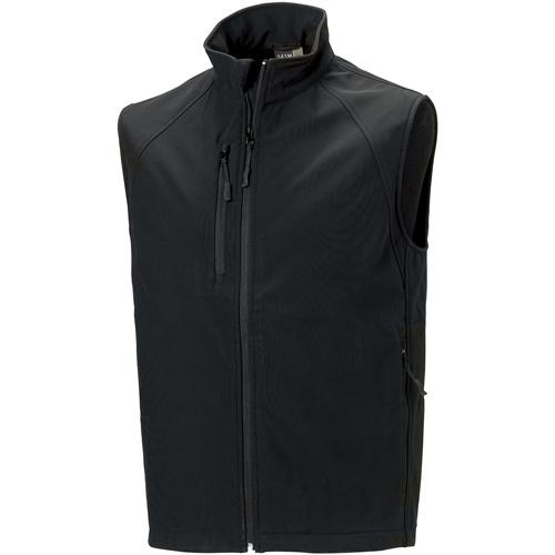 vaatteet Miehet Neuleet / Villatakit Russell Soft Shell Black