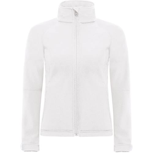 vaatteet Naiset Tuulitakit B And C JW937 White