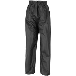 vaatteet Miehet Verryttelyhousut Result R226X Black