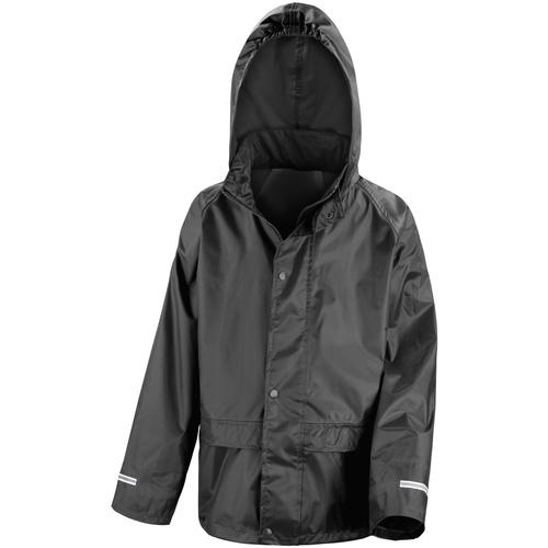 vaatteet Lapset Tuulitakit Result R227J Black