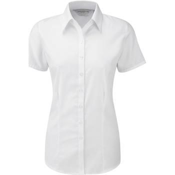 vaatteet Naiset Paitapusero / Kauluspaita Russell 963F White
