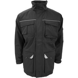 vaatteet Miehet Paksu takki Result R301X Black