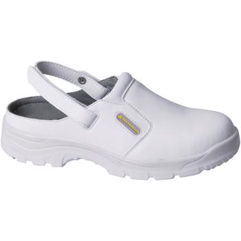 kengät Puukengät Delta Plus MAUBEC White