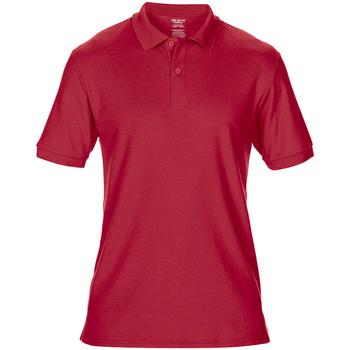 vaatteet Miehet Lyhythihainen poolopaita Gildan 75800 Red