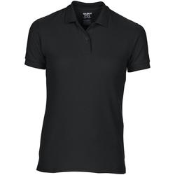 vaatteet Naiset Lyhythihainen poolopaita Gildan 75800L Black