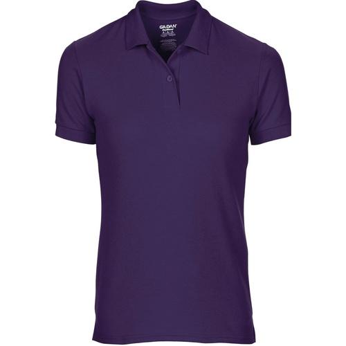 vaatteet Naiset Lyhythihainen poolopaita Gildan 75800L Purple