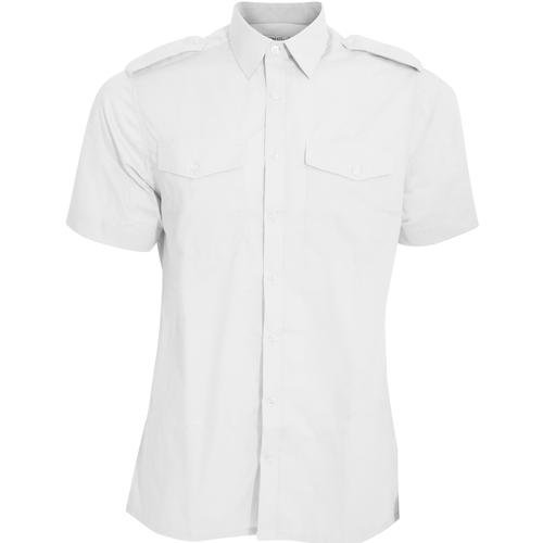 vaatteet Miehet Lyhythihainen paitapusero Kustom Kit KK133 White