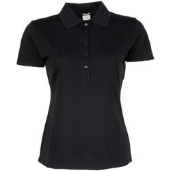 vaatteet Naiset Lyhythihainen poolopaita Tee Jays TJ145 Black