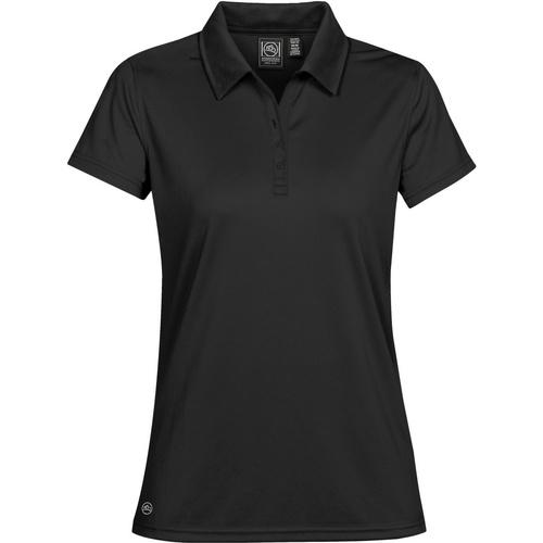 vaatteet Naiset Lyhythihainen poolopaita Stormtech PG-1W Black