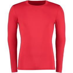 vaatteet Miehet T-paidat pitkillä hihoilla Gamegear Warmtex Red