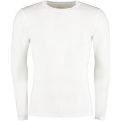 vaatteet Miehet T-paidat pitkillä hihoilla Gamegear Warmtex White