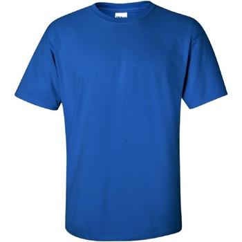 vaatteet Miehet Lyhythihainen t-paita Gildan Ultra Royal