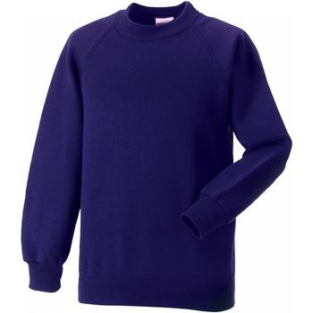 vaatteet Lapset Svetari Jerzees Schoolgear 7620B Purple