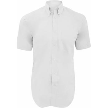 vaatteet Miehet Lyhythihainen paitapusero Kustom Kit KK109 White