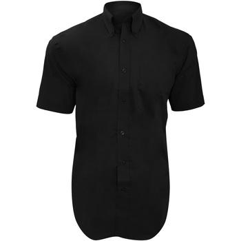 vaatteet Miehet Lyhythihainen paitapusero Kustom Kit KK109 Black