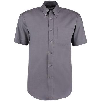 vaatteet Miehet Lyhythihainen paitapusero Kustom Kit KK109 Charcoal