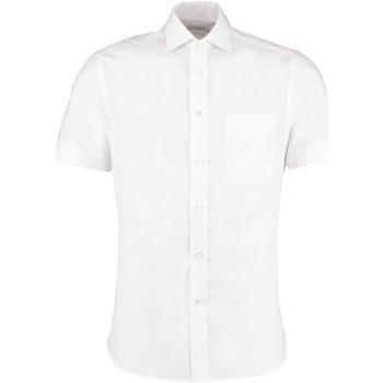 vaatteet Miehet Lyhythihainen paitapusero Kustom Kit KK115 White