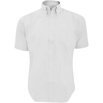 vaatteet Miehet Lyhythihainen paitapusero Kustom Kit KK350 White