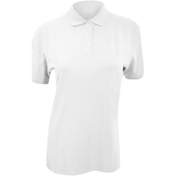 vaatteet Naiset Lyhythihainen poolopaita Kustom Kit KK705 White