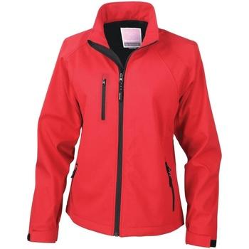 vaatteet Naiset Fleecet Result Breathable Red