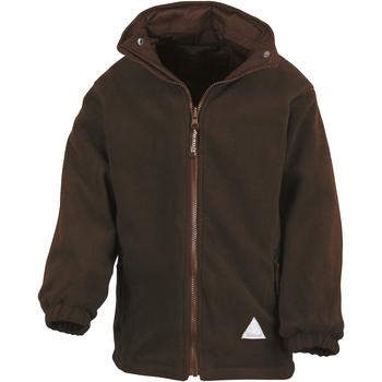 vaatteet Lapset Fleecet Result R160JY Brown