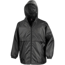 vaatteet Miehet Tuulitakit Result R205X Black
