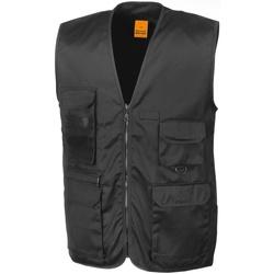 vaatteet Miehet Neuleet / Villatakit Result R45X Black