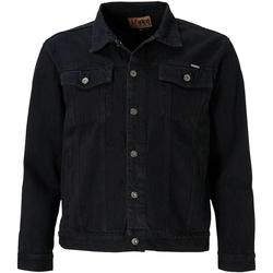 vaatteet Miehet Farkkutakki Duke  Black