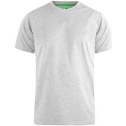 vaatteet Miehet Lyhythihainen t-paita Duke  Grey