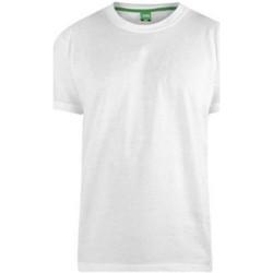 vaatteet Miehet Lyhythihainen t-paita Duke  White
