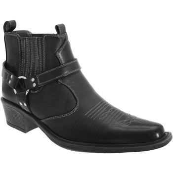 kengät Miehet Bootsit Us Brass  Black