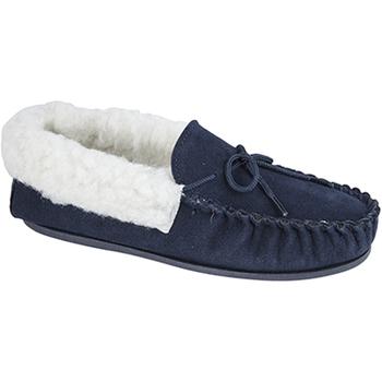 kengät Naiset Tossut Mokkers  Navy