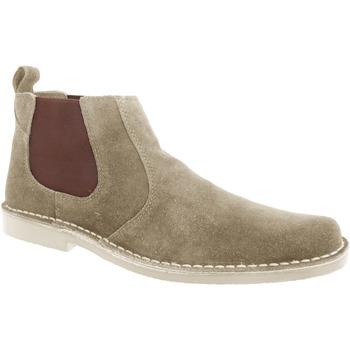 kengät Miehet Bootsit Roamers  Taupe