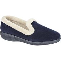 kengät Naiset Tossut Sleepers  Navy