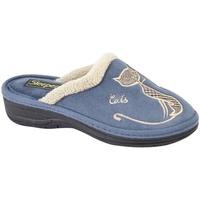 kengät Naiset Tossut Boulevard  Navy