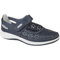 kengät Naiset Derby-kengät Boulevard Wide Fit Navy