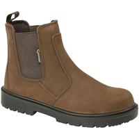 kengät Miehet Bootsit Grafters  Brown