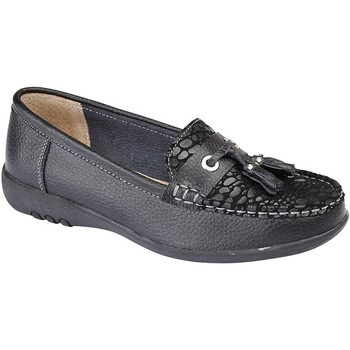 kengät Naiset Mokkasiinit Boulevard  Black