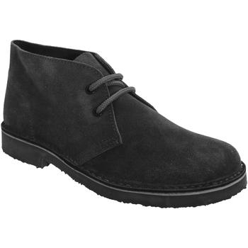 kengät Naiset Bootsit Roamers Round Toe Black
