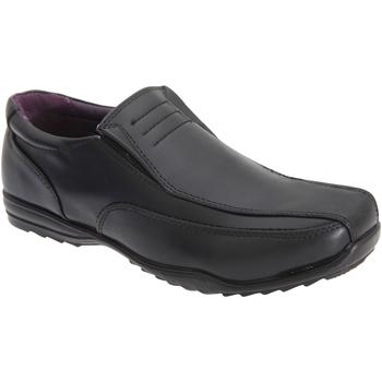 kengät Pojat Mokkasiinit Us Brass  Black